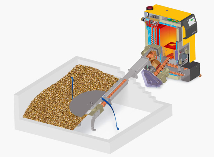 Biomass Heating | Fuel Feed Systems